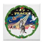 XmasSunrise/Chihuahua Tile Coaster