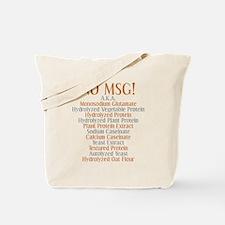 No MSG Tote Bag