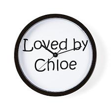 Funny Chloe Wall Clock