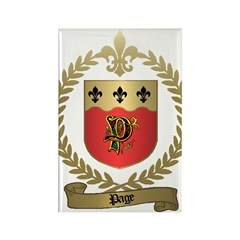 PAGE Family Crest Rectangle Magnet (10 pack)