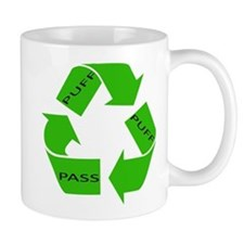 Puff Puff and Pass Recycle We Mug