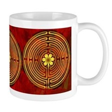 Chartres Labyrinth Fire Mug