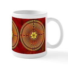 Chartres Labyrinth Fire Mug
