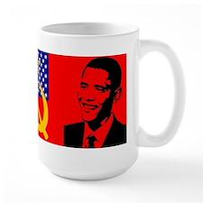 Obama USA Communist Flag Mug