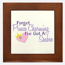 Forget Prince Charming - Seabee Framed Tile