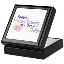 Forget Prince Charming - Sailor Keepsake Box