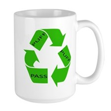 Puff Puff and Pass Recycle We Mug