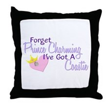 Forget Prince Charming - Coastie Throw Pillow