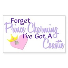 Forget Prince Charming - Coastie Decal