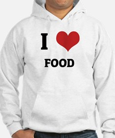 I Love Food Jumper Hoody