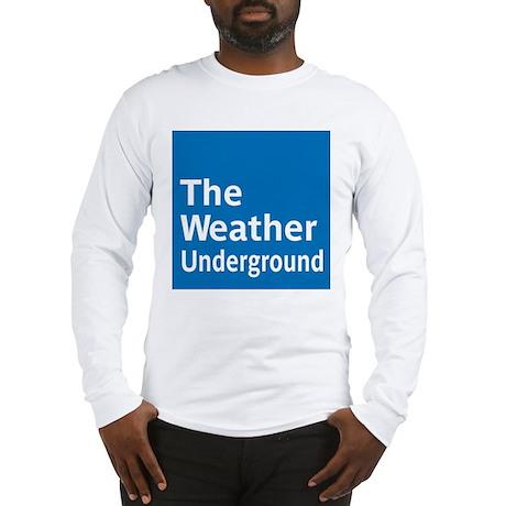 WeatherUnderground Long Sleeve T-Shirt