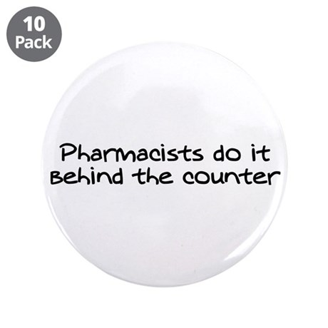 """The Counter 3.5"""" Button (10 pack)"""