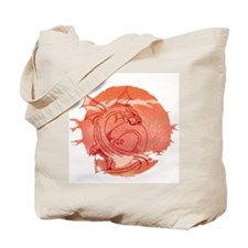 Cute The golden dragons Tote Bag