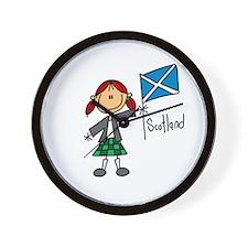 Scotland Ethnic Wall Clock
