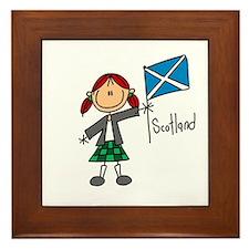 Scotland Ethnic Framed Tile
