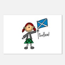 Scotland Ethnic Postcards (Package of 8)