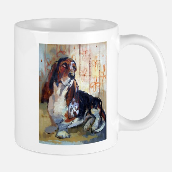 Vintage Basset Hound Mug