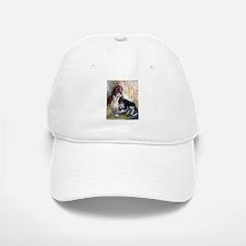 Vintage Basset Hound Baseball Baseball Cap
