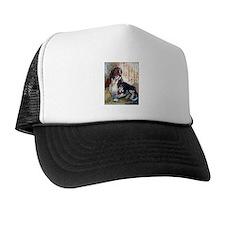 Vintage Basset Hound Trucker Hat