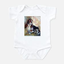 Vintage Basset Hound Infant Bodysuit