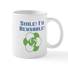 Smile I'm Reusable Mug