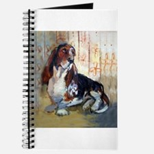 Vintage Basset Hound Journal