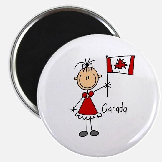 "Canada Ethnic 2.25"" Magnet (10 pack)"