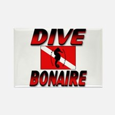 Dive Bonaire (red) Rectangle Magnet