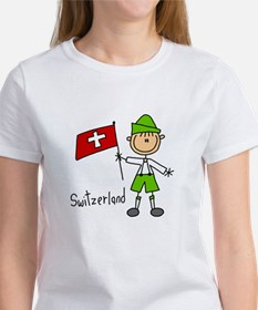 Switzerland Ethnic Women's T-Shirt
