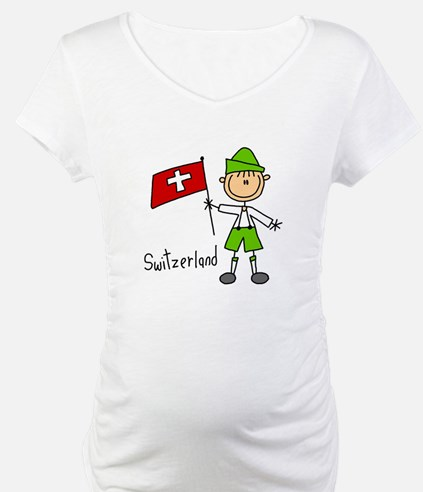Switzerland Ethnic Shirt