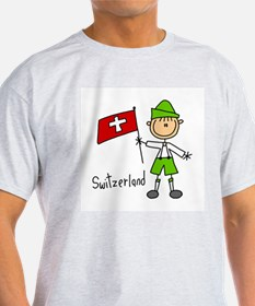 Switzerland Ethnic T-Shirt