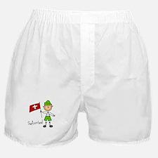 Switzerland Ethnic Boxer Shorts