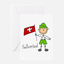 Switzerland Ethnic Greeting Card