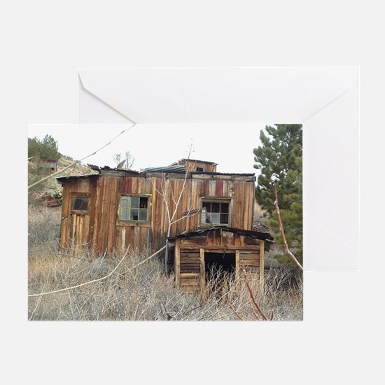 Ghost Town Dentist Shop Greeting Card