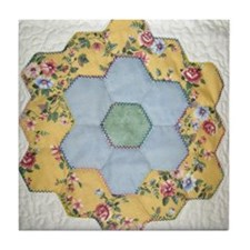 Dotty's Flower Garden Tile Coaster