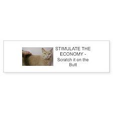 Stimulate Economy Bumper Bumper Sticker