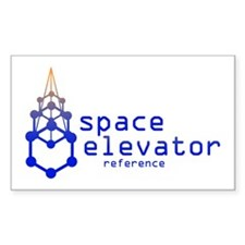 The Space Elevator Reference Rectangle Decal