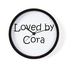 Cute Cora Wall Clock