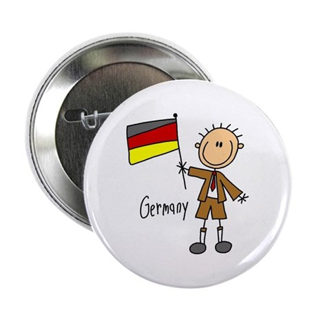 "Germany Ethnic 2.25"" Button"