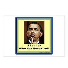 """Leader?"" Postcards (Package of 8)"
