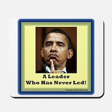 """""""Leader?"""" Mousepad"""
