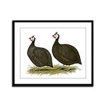 Chocolate Guineas Framed Panel Print