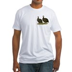 Chocolate Guineas Fitted T-Shirt