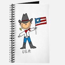 USA Stick Figure Journal