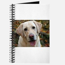 Cute Yellow lab Journal