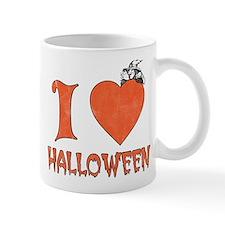 Vintage I Heart / Love Halloween Mug