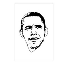 Obama Line Portrait Postcards (Package of 8)