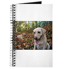 Cute Hiking dog Journal