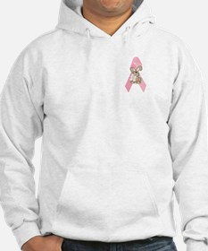 Breast Cancer Ribbon & Bunny Hoodie