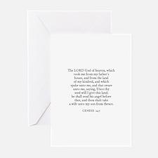 GENESIS  24:7 Greeting Cards (Pk of 10)